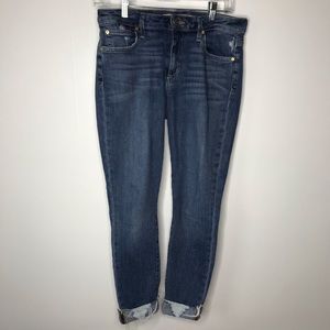 Joe's flawless The Icon mid rise ankle skinny 28